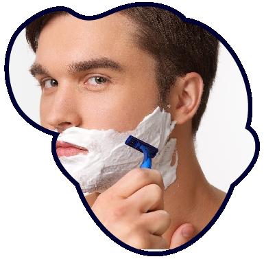 髭剃りの基本